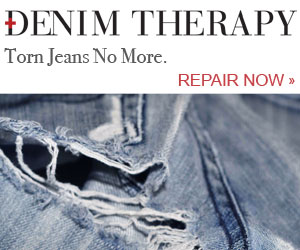 Torn Jeans No More. Repair Now.