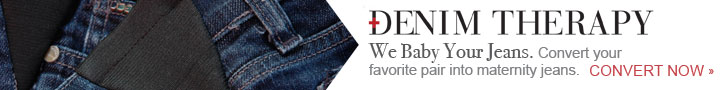 We Baby Your Favorite Jeans. Convert Your Favorite Pair Into Maternity Jeans. Convert Now.
