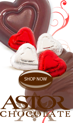 Astor Chocolate hearts