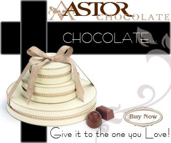 Astor Chocolate truffles wedding favor