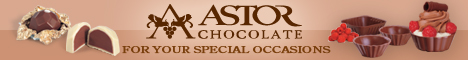 Astor Chocolate truffles shelss wedding favor