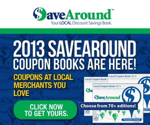 SaveAround Coupon Books