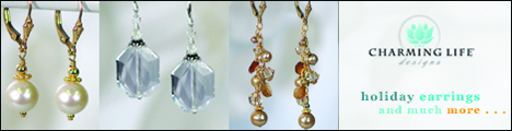Shop for Holiday jewelry at Charming Life Designs and Save!