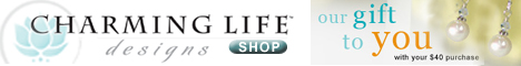 Charming Life Designs, free pair of pearl earrings with $40 purchase