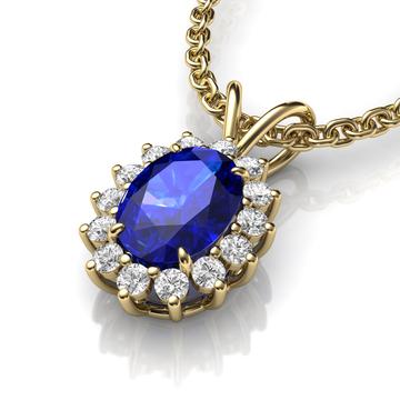 Blue Sapphire pendant