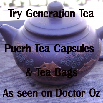 dr oz puerh tea weight loss