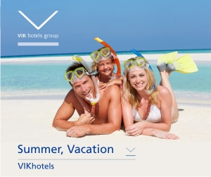 ViK Hotels, summer
