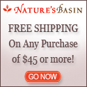 NaturesBasin.com sales