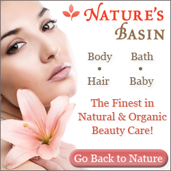 Natures Basin - Organic Beauty Care - Free  Shipping - Free  Samples - From $8