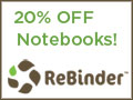 recycled notebook sale