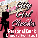 City Girl Personal Checks
