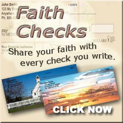 Faith Based Personal Checks