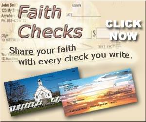 Faith Based Personal Checks