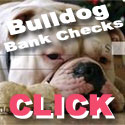 Bulldogs Personal Bank Checks