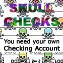 Skull Checks at Checks on Sale