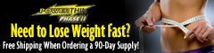 PowerThin Phase II plus Hollywood Weight Loss Secrets Now Ships for FREE