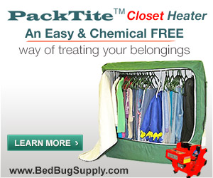 buy Packtite Closet bed bug heaters at Bed Bug Supply