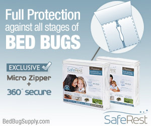 buy SafeRest Encasements at Bed Bug Supply