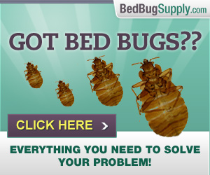 Bed Bug Supply affiliate ad banner