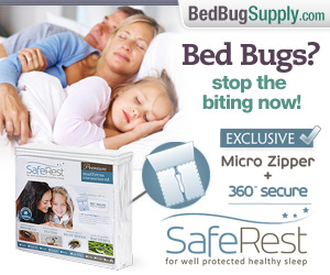 SafeRest encasements at Bed Bug Supply