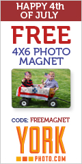 Free 4X6 Photo Magnet + 40 Free Photo Prints!