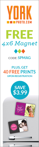 Free 4X6 Photo Magnet And 40 Free Photo Prints!
