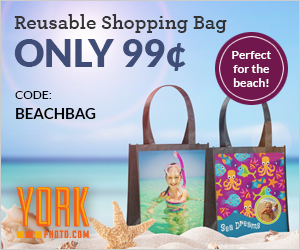 99¢ Custom Beach Bag – Save $11!