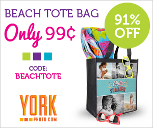 Custom Beach Bag - Just 99¢ - Save $9!