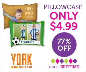 Custom Photo Pillowcase – Just $4.99 – Save $17!
