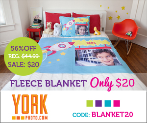 Photo Fleece Blanket - Just $20! Save $24.99
