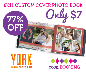 8X11 Custom Cover Photo Book - Just $7 – Save $22.99!