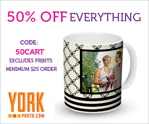 50% Off Everything On Orders Of $25 Or More!