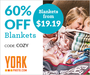 60% Off Custom Blankets – Blankets From $19.19!