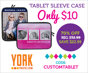 70% Off Custom Photo Tablet Sleeve Case - Now Just $10 - Save $22.99!
