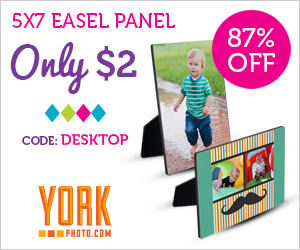 5X7 Photo Easel Panel – Only $2 – Save $12.99!