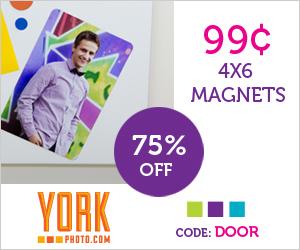 4X6 Custom Photo Magnet – Just 99¢ - Save 75%!