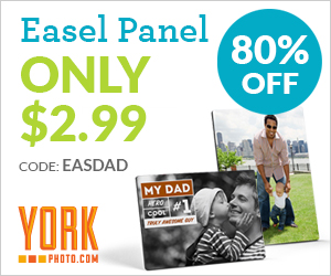 5X7 Custom Photo Easel Panel– Only $2.99 – Save $12!