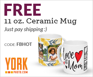 Free 11 oz. Custom Ceramic Mug – Save $11.99!