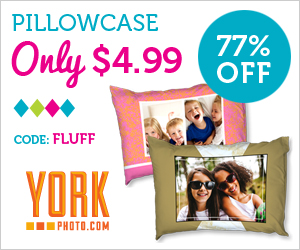Custom Photo Pillowcase – Just $4.99 – Save $17!