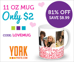 Valentine's Offers: Custom Cover Photo Book Just $2 OR Custom Photo Mug Just $2!