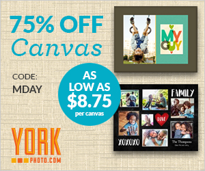 75% Off Gallery Wrapped Canvas  – As Low As $8.75!