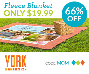 Custom Photo Fleece Blanket – Just $19.99 – Save $38 On Each!