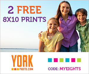 2 Free 8X10 Prints OR 11 OZ Photo Mug For Just $1!