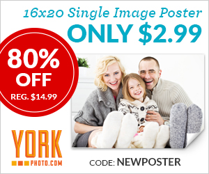 Custom 16X20 Single Image Poster – Only $2.99 – Save $12!