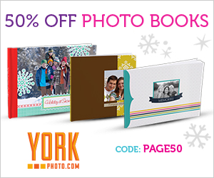 50% Off Photo Books!