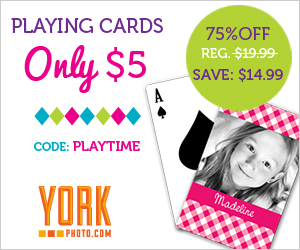 Custom Photo Playing Cards – Only $5 – Save $14.99!