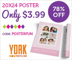 20X24 Custom Photo Poster – Just $3.99 – Save $14!