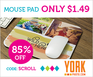 Custom Photo Mouse Pad – Just $1.49 – Save $8.50!