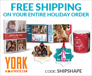 Free Shipping On Your Entire Holiday Order With YorkPhoto!
