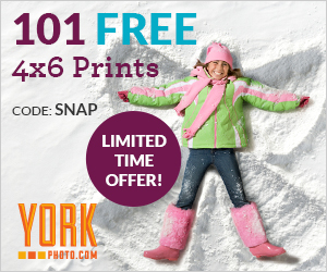 * free 4x6/4xD print credits. All free print credits must be used on new customer's first order. Offer for new customers. Order quantity limited to 4x6/4xD prints. Does not include shipping and handling. Ordered Online. One time use.
